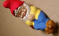 Alberta 0589 sleeping gnome (medium) CC