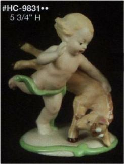 Alberta (Heinz) 9831 cherub with goat