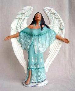 Doc Holliday 1834 Indian Angel Receiving Spirit