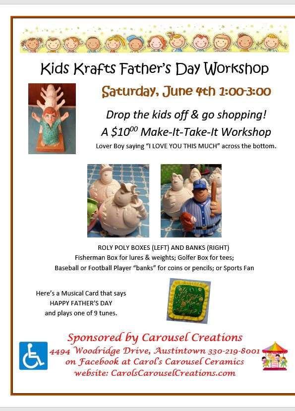 KK FATHER'S DAY WORKSHOP 6-4-2016