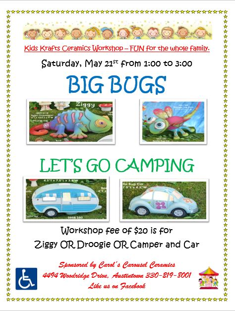 KK MAY 2016 BIG BUGS & LETS GO CAMPING.JPG