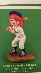 Alberta 0208 girl baseball player