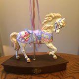 Alberta 0849 carousel horse -- Lynn