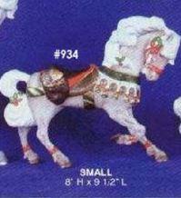 alberta 0934 carousel Christmas horse (small)