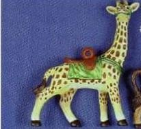 Alberta 1112 giraffecarousel ornament
