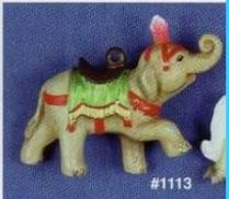 Alberta 1113 elephant carousel ornament