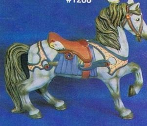 Alberta 1211 Eagle carousel horse