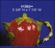 Alberta 1262 strawberry teapot