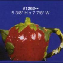 Alberta 1262 strawberry teapot