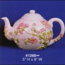 Alberta 1268 flower teapot