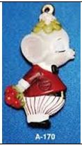 Alberta Ornaments 0170 Kissisng Boy Mouse