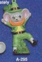 Alberta Ornaments 0295 Shamrock boy mouse