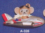Alberta Ornaments 0328 mouse in plane