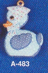 Alberta Ornaments 0483 stuffed (soft) duck