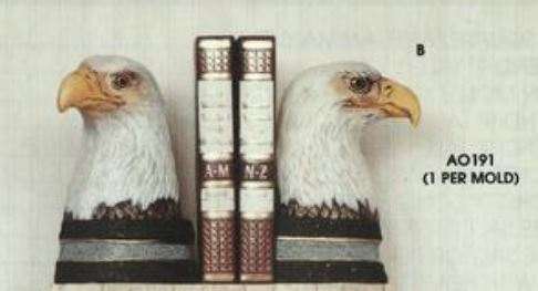 Ann Original 0191 Eagle bookend