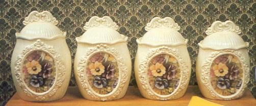 Boothe Formal Canister Set