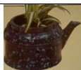 Byron 1102 ea kettle planter