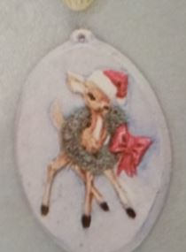 BYRON 1150A-1 DEER ORNAMENT
