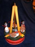 Canadian Goose Spinning Carousel