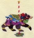 Carousel Christmas Bear