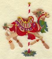 Carousel Christmas Camel