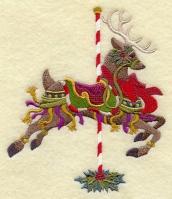 Carousel Christmas Reindeer