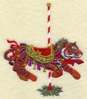 Carousel Christmas Tiger