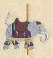 Carousel Elephant.