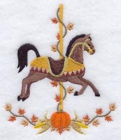 Carousel Horse - Autumn