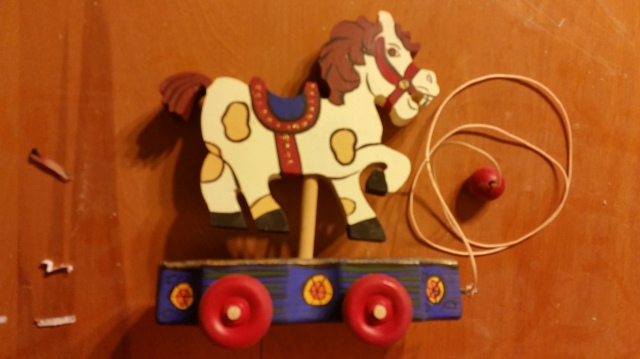 Carousel Horse Pull Toy