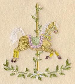 Carousel Horse - Spring