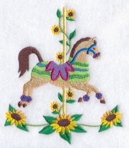 Carousel Horse - Summer