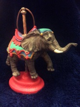 carousel ornament elephant