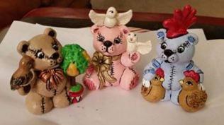 Christmas Bears 1-3 CC