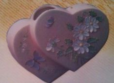 Clay Magic 0147 heart vase