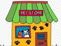 clipart pet store