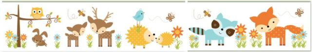 clipart woodland animal border