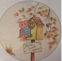 CLUB DAVID 1392 Home Sweet Home (owls)
