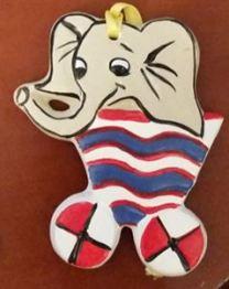 corky circus train elephant