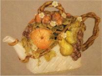 DM1807 fruit basket teapot