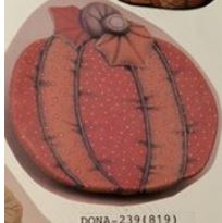 dona 239 stuffed pumpkin plate