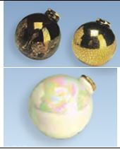 duncan 0079d plain round ornaments (balls)