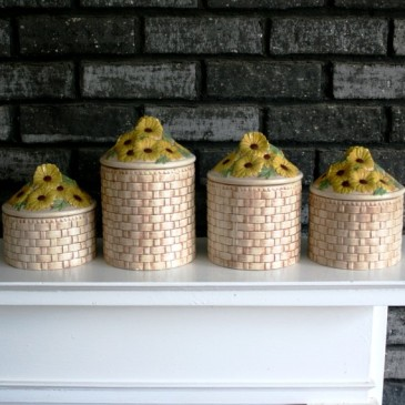 Duncan 0149 + basket weave canister set