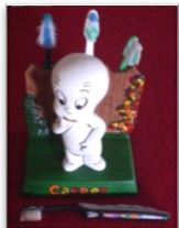 Duncan 0182 casper toothbrush holder