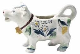 Duncan 0289 cow creamer