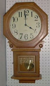 Duncan 0362B schoolhouse clock like this