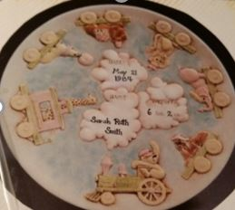 Duncan 0671 Baby Plate with Train