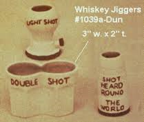 Duncan 1039A whiskey jiggers
