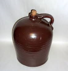Duncan 1332 jug large in brown