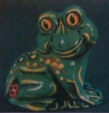 Duncan TM 0047 sitting frog